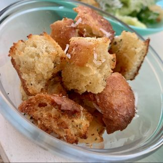 Gourmet Garlic Butter Croutons